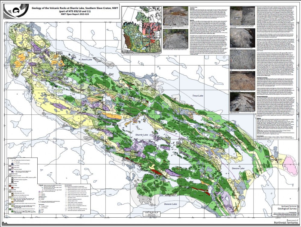 Sharrie Lake Geological Map Selected For Esri Canada S