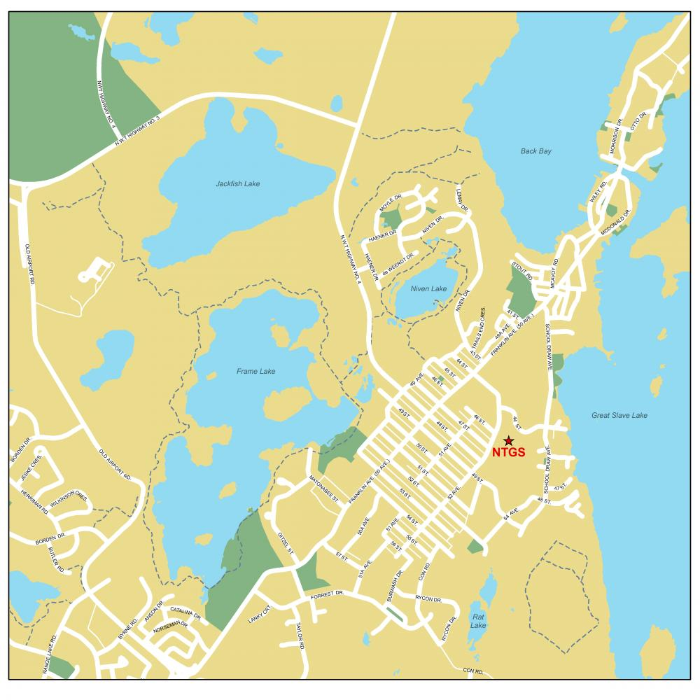 Contact Us Northwest Territories Geological Survey - Map of the us territories located