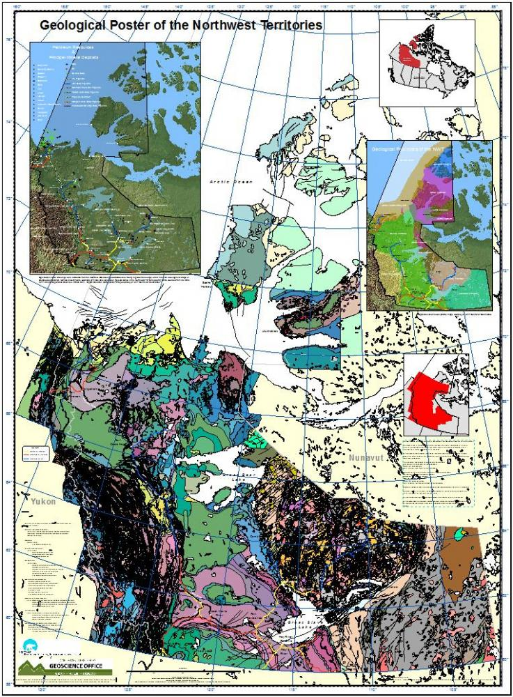 Geological Map Compilation of the Northwest Territories Northwest