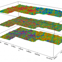 Aeromagnetic products with 3D view, central Slave craton area, Northwest Territories.