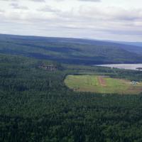 Fort Liard, Northwest Territories. Credit: Timkal.