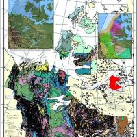 The New Geological Poster of the Northwest Territories. Credit: NTGS.