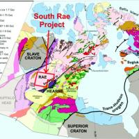 Geology map showing South Rae study area. Credit: NTGS.