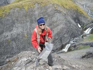 Karen Gochnauer, District Geologist. Credit: NTGS.