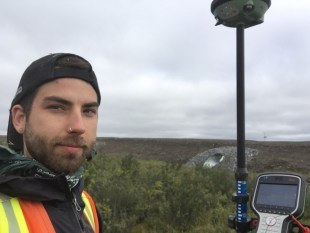 Justin Kokoszka is continuing to study permafrost conditions in the NWT for a second summer.