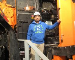 Asif Mirza, Geophysicist. Credit: NTGS.