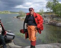 Bernadette Knox, Project Geologist. Credit: NTGS.