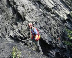 Jonathan Rocheleau, Petroleum Geologist. Credit: NTGS.