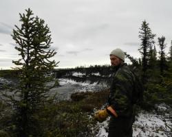 Steve Kokelj, Permafrost Scientist. Credit: NTGS.